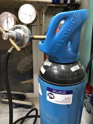 carga gas nitrogeno